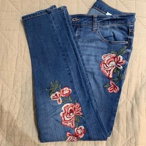Kenzie embroidered jeans
